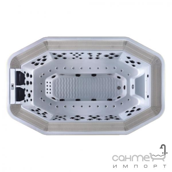 comfort spa Спа-бассейн с переливом Comfort Spa ComSPA-10 восьмиугольный