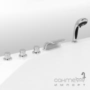 Врезной смеситель для ванны с каскадом Vega Onda Lux (91А0505025)