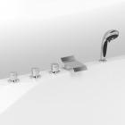 Врезной смеситель для ванны с каскадом Vega Piccolo Lux (91А0155022)