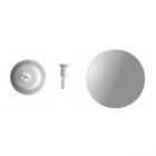 Декоративная крышка для сифона для умывальника Duravit 005043 хром