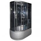 Гидромассажный бокс с серым глубоким поддоном Serena SE-32380G R (правый)