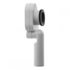 Сифон с вытяжкой для писсуара, сток внутренний вертикальный Duravit 005111 белый