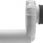 Сифон с вытяжкой для писсуара, сток горизонтальный (скрытый) Duravit 005112 белый
