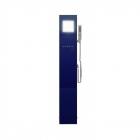 Душевая панель Appollo A-1301D с парогенератором и электрическим термостатом, синяя