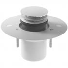 Комплект слива для сверхплосских поддонов, сток вертикальный, Duravit DuraPlan 790262 2 цвета