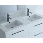 Раковина для ванной комнаты Salgar SQUARE 1210 double porcelain white 16886