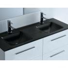 Раковина для ванной комнаты Salgar Top Glass IBERIA Black Double 16645