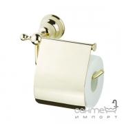 Держатель для туалетной бумаги Devit Charlestone 8036142G золото