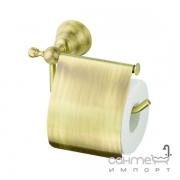 Держатель для туалетной бумаги Devit Charlestone 8036142B бронза