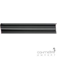 Плитка керамическая бордюр Pilch Altea 1 czarny 30x5