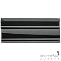 Плитка керамическая бордюр Pilch Altea 2 czarny 30x12.5