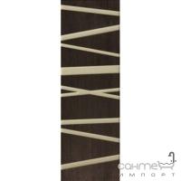 Плитка керамическая фриз Pilch Zebrano 4 braz 14.7x45