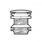 Донный клапан для ванны Roca A506403900 Хром