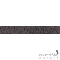 Плитка керамическая фриз Pilch Alaska 8 Czarny 30x8.2