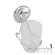 Стакан-стекло для зубных щеток на присоске Trento Adige 26246